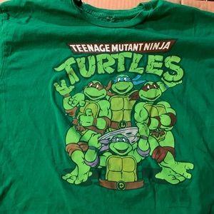 Green Teenage Mutant Ninja Turtles shirt